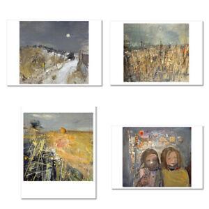 Joan Eardley 4 postcards (A6 -14.8 x 10.5 cm) 4 cards for £3 *ART SCOTLAND