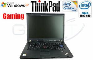 Retro WinXP Gamer Gaming Lenovo R500 C2D T5870 4GB 240GB SSD/GK GMA 4500MHD 1GB