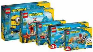 LEGO® Minions 75551 75550 75549 75547 75546 Flugzeug Grus Labor VORVERKAUF 06/21