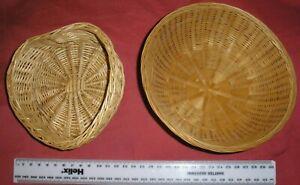 Heart Shape Wicker Basket + Round one.