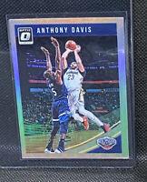 2018-19 Panini Donruss Optic Anthony Davis #47 Silver Prizm Pelicans