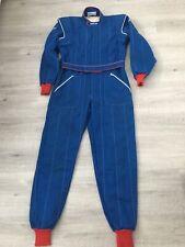 Vintage SPARCO Blue Race Suit Size 58 New Condition NOMEX 1986 FIA06.201.CSAI.87