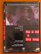 THIS IS NOT A LOVE SONG  DVD 2003 16:9  PAL FORMAT REGION 2 Michael Colgan