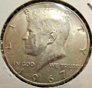 1967-P 50c Kennedy Half Dollar 40% Silver
