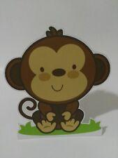 sagoma scimmia animali giungla festa compleanno sweet table comunione battesimo