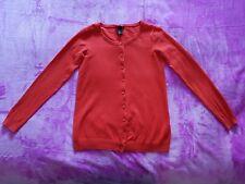 H&M Mama maternity Size M long sleeve cardigan - Orange