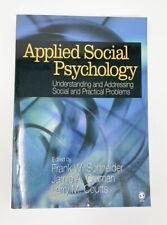 Applied Social Psychology Textbook Frank Schneider Jamie Gruman Larry Coutts
