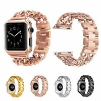 For Apple Watch Series 5 4 3 2 Stainless Steel Bracelet iWatch Band Strap 44mm