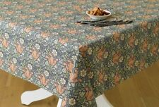 William Morris Compton 132cm x 178cm  Floral Cotton Tablecloth