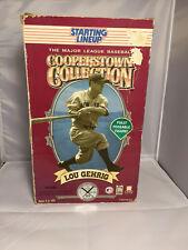 "MLB Sports Action Figure Lou Gehrig N.Y. Yankees Starting Lineup 12"""