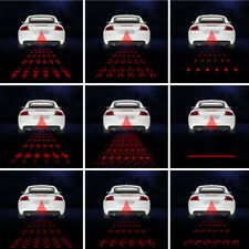 For Auto Motor Universal Car Fog Rear Laser Fog Lamp Brake Parking Warming Light