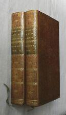 ***** TRES RARE : DISCOURS SUR L'HISTOIRE UNIVERSELLE - BOSSUET - 2 TOMES - 1786