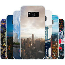Dessana New York City Silicone Protective Cover Phone Case for Samsung Galaxy