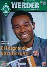 Programm 2005/06 SV Werder Bremen - FC Nürnberg