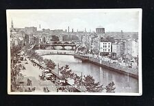 Postcard View Along the Quays O'Connell Bridge, Dublin Unposted R1674 - PCBOX1