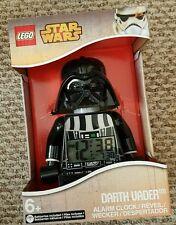 Star Wars Lego Darth Vader Figure Alarm Clock Batteries Included