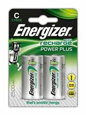 2 x Energizer ACCU Rechargeable C Cell NiMh Batteries (2500mAh)