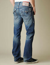 NWT TRUE RELIGION RICKY NATURAL SUPER T Straight Jeans SZ 31 AAHM Saguaro Valley