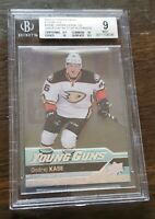 2016-17 SP Authentic insert UD Young Guns Ondrej Kase #489B Clear Cut/Acetate