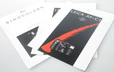 Leica Af-C1 And Binoculars Information