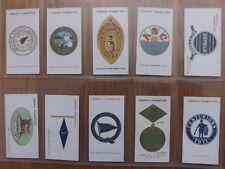 CLUB BADGES  -  OGDENS  -  Complete Set of 50 - 1914 - EX
