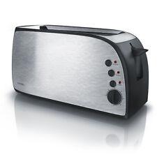 Arendo 4 Scheiben Langschlitz Toaster | stufenlos einstellbare Bräunung | NEU