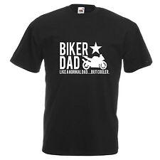 Funny Motociclista Camiseta Camiseta Camiseta Moto Racer Regalo Papá Bicicleta Motocicleta Cool