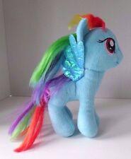 Ty Rainbow Dash Blue My Little Pony Beanie Babies Stuffed Plush