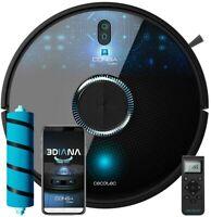 Cecotec Robot Aspirador y Fregasuelos Conga 7090 ecnología Láser, 10000 Pa, Room