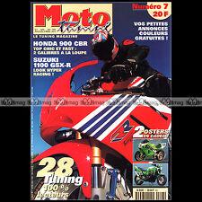 MOTO TUNING N°7-b HONDA CBR 900 SUZUKI GSXR 1100 BANDIT 1200 YAMAHA V-MAX 1998