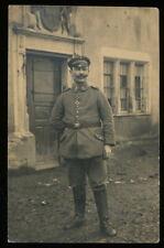 Foto AK - Soldat Feldgrau Minenwerfer Abtl. 82. Ldw. Inf. Brigade - 1.WK