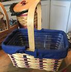 Longaberger Basket ~PROUDLY AMERICAN SPRING BASKET COMBO ~ EUC