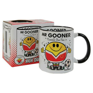 FOOTBALL MUG - great gift for the GOONERS fan  ( unofficial )
