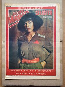 SELECTER PAULINE BLACK RECORD MIRROR COVER POSTER SIZED original SKA  record mir