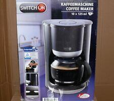 SwitchON CMB201 Kaffeemaschine Kaffeeautomat Glas Kanne Warmplatte 1,25Lit 1080W