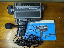 Bell & Howell - Vintage Filmosonic Zoom Movie Camera model 1223  - W/ microphone