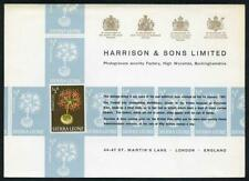 Sierra Leone 1/2d Flower (fireball lily) Harrison Presentation Card
