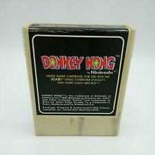 Donkey Kong for (ATARI 2600) Cartridge, 1982.