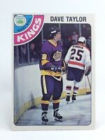 1978-79 Dave Taylor RC #353 Los Angeles Kings O Pee Chee Ice Hockey Card H373