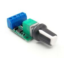 DC motor speed PWM speed regulation LED dimming ultra high linearity band switch