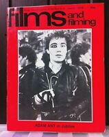 Vintage Film and Filming Magazine 1978 Adam Ant Jubilee Cover. Robert Powell.