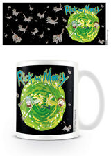 RICK AND MORTY FLOATING CAT DIMENSION MUG NEW GIFT BOXED 100 % OFFICIAL