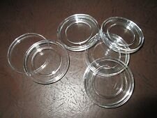 5 Direct Fit COIN CAPSULES, 22mm for 1/4 oz GOLD or 1/4 oz PLATINUM Coins