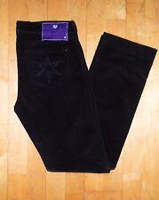 Damen Jeans Cord Hose Dvb Denim by Victoria Beckham Gr 38 W31 L32 schwarz Top