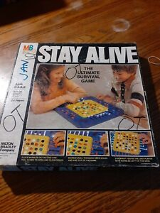 Vintage Milton Bradley Stay Alive Marble Game 1978 Ages 8+ 2-4 Players