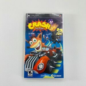 Sony Playstation PSP Crash Tag Team Racing 2005 Complete Tested Working