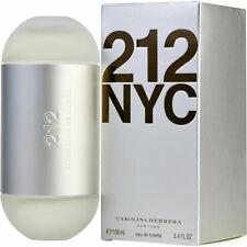 212 by Carolina Herrera 3.4 oz / 100ml EDT Perfume for Women NIB