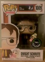 Funko Pop Dwight Schrute Princess Unicorn Popcultcha Exc #1009 LE Office Rare