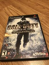 call of duty World Ar war Ps2 VC4