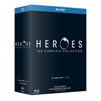 STV *** HEROES - Stagioni 01-04 (17 Blu-Ray) *** sigillato